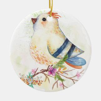 Chirtsmas 15 ceramic ornament