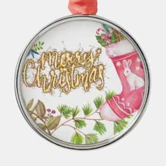 Chirtsmas 18 metal ornament