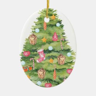 Chirtsmas 21 ceramic ornament