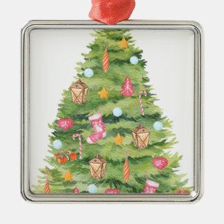 Chirtsmas 21 metal ornament