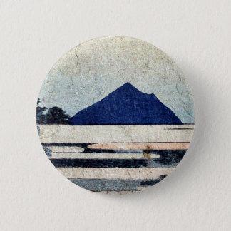 Chiryu  by Katsushika, Hokusai Ukiyoe 6 Cm Round Badge