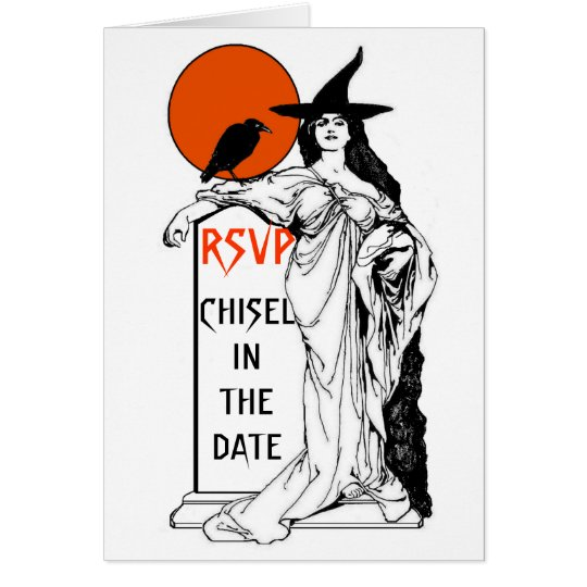 CHISEL IN THE DATE CARD