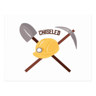 Chiseled Tools Postcards