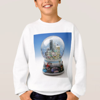Chistmas Snow Globe Sweatshirt