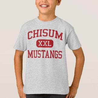 Chisum - Mustangs - Middle School - Paris Texas T-Shirt