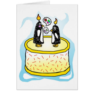 Chit and Chat Birthday card