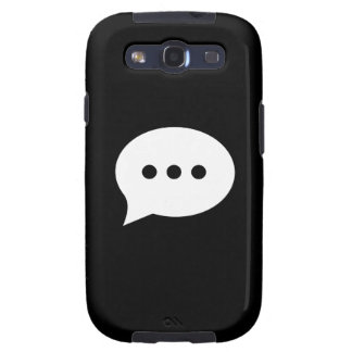 Chit-Chat Pictogram Galaxy S3 Case