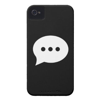 Chit-Chat Pictogram iPhone 4 Case
