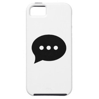 Chit-Chat Pictogram iPhone 5 Case