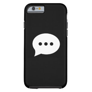 Chit-Chat Pictogram iPhone 6 Case