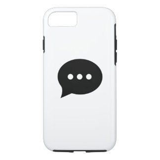 Chit-Chat Pictogram iPhone 7 Case