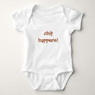 chit happens! t-shirts