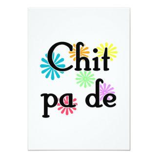 Chit pa de - Burmese - I Love You (3) Flowers.png 5x7 Paper Invitation Card