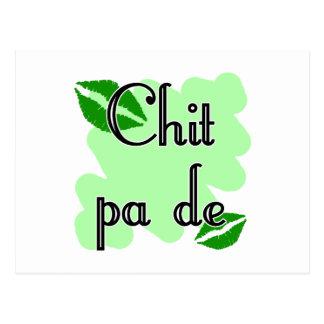 Chit pa de - Burmese - I Love You (4) Green Kisses Postcard
