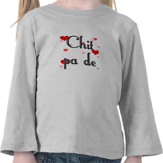 Chit pa de - Burmese - I Love You (4) Hearts Red.p Tee Shirts