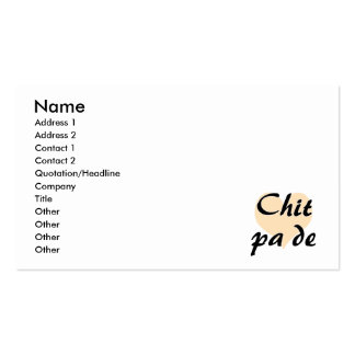 Chit pa de - Burmese - I Love You Peach Heart.png Pack Of Standard Business Cards