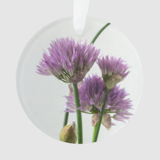 chives in bloom ornament