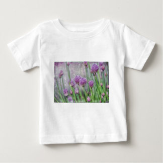 Chives in texture baby T-Shirt