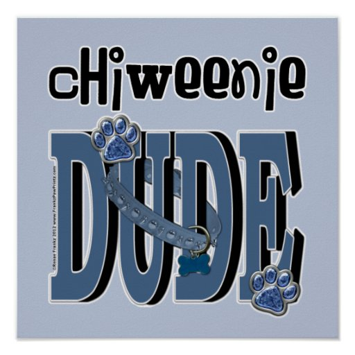 ChiWeenie DUDE Poster