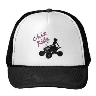Chix Ride trucker hat