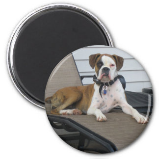 Chloe 6 Cm Round Magnet