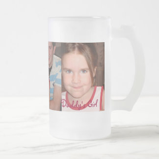 Chloe Angel - Customized Frosted Glass Beer Mug