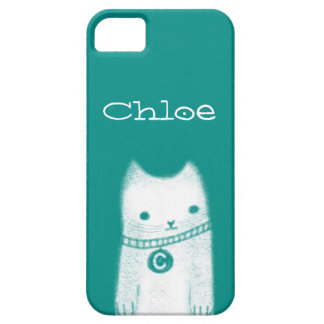 Chloe Cat iPhone 5 Cases