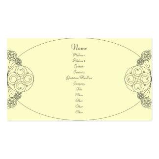 Chloe - Cream Business Cards