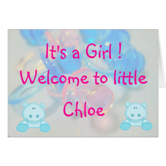 Chloe Greeting Card