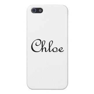 Chloe iPhone 5/5S Cases