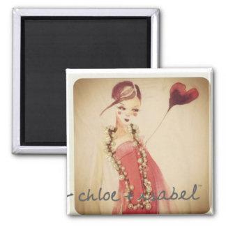 Chloe + Isabel magnets