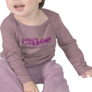 Chloe Name Clothing Company Baby Shirts