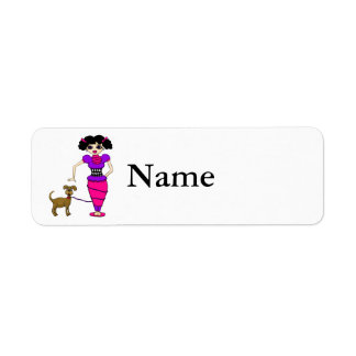 Chloe Return Address Label