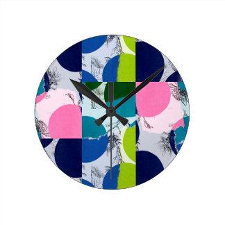 Chloe Round Clock