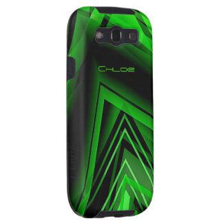 Chloe Samsung Galaxy s3 green case Galaxy S3 Cases