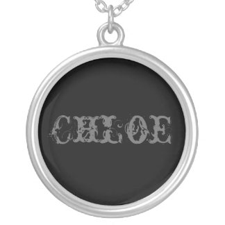 Chloe Silver Plated Necklace