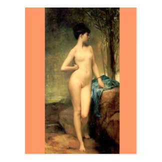 Chloe - Vintage Art - famous Paintings - Lefebvr Postcard