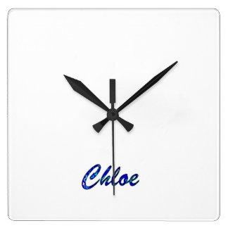 Chloe's Clocks