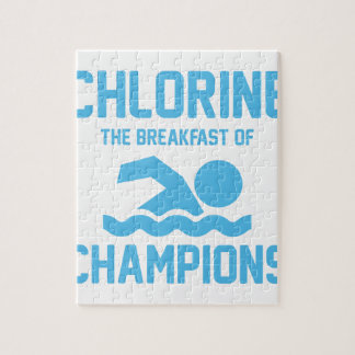 Chlorine for Breakfast Jigsaw Puzzle