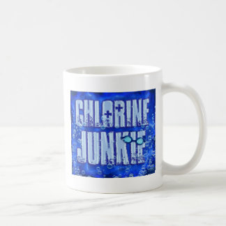 chlorine junkies coffee mug