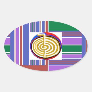 Cho ku rei CHOKUREI Reiki Healing Symbol TEMPLATE Sticker