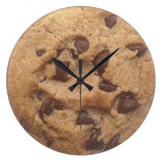 Choc Chip Cookie Large Clock