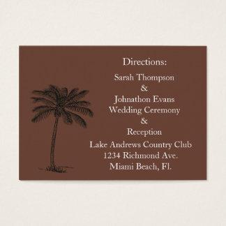 Chocalate Java Beach Getaway Direction Cards