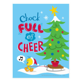 Chock Full Of Cheer Post Card