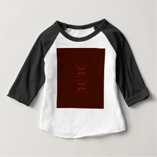 Choco design elements gold on brown baby T-Shirt