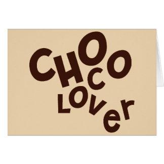 Choco Lover Greetings Card