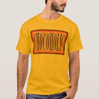 Chocoholic, Candy Bar Wrapper Style T-Shirt