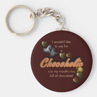 Chocoholic Key Ring