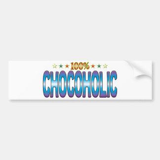 Chocoholic Star Tag v2 Bumper Stickers