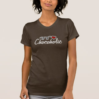 Chocoholic t-shirt for chocolate lover